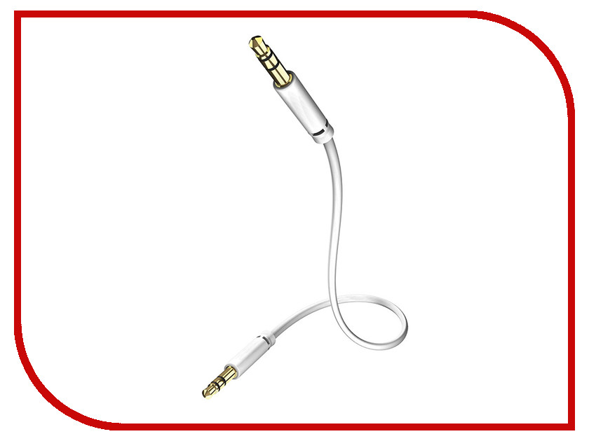 Аксессуар Inakustik Star MP3 Audio Cable 3.5mm 0.75m 0031010075 audio 655