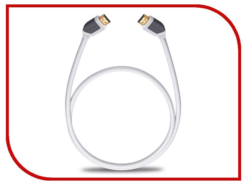 Аксессуар Oehlbach Shape Magic-HS HDMI 1.7m White D1C-92572 аксессуар oehlbach black magic hdmi 1 7m