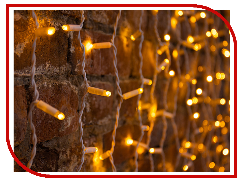 Гирлянда Neon-Night Светодиодный Дождь 2x3m 760 LED Yellow 235-131 neon yellow