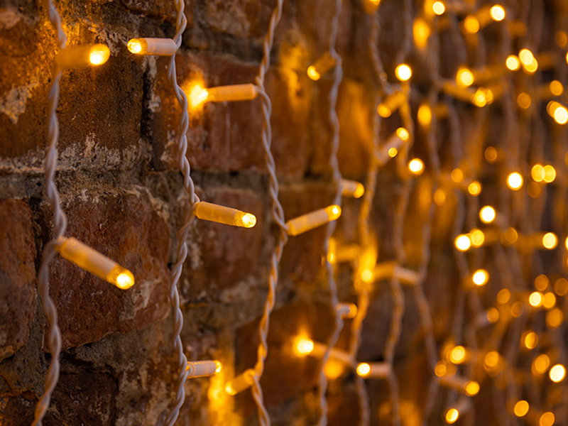 Гирлянда Neon-Night Светодиодный Дождь 2x3m 760 LED Yellow 235-131
