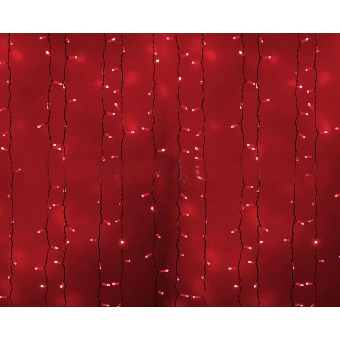 Гирлянда Neon-Night Светодиодный Дождь 2x3m 760 LED Red 235-132