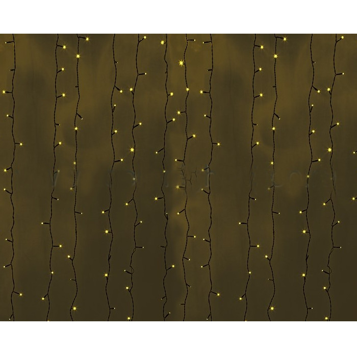Гирлянда Neon-Night Светодиодный Дождь 2x3m 760 LED Yellow 235-141