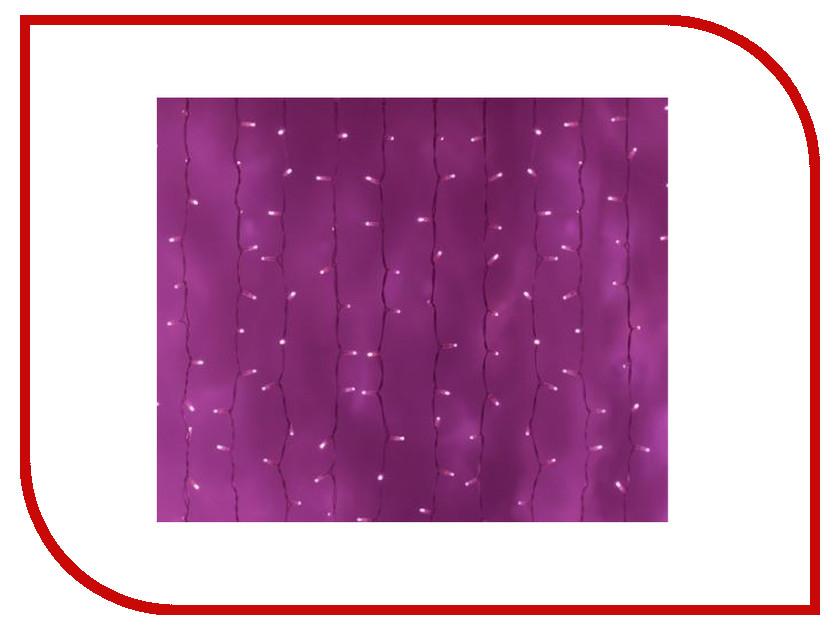 Гирлянда Neon-Night Светодиодный Дождь 2x1.5m 360 LED Pink 235-307 скейт мини круизер union neon lips pink 7 5 x 28 71 1 см