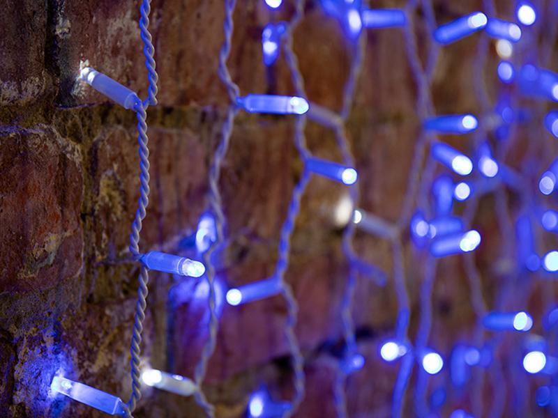 Гирлянда Neon-Night Светодиодный Дождь 2x1.5m 360 LED Blue 235-223