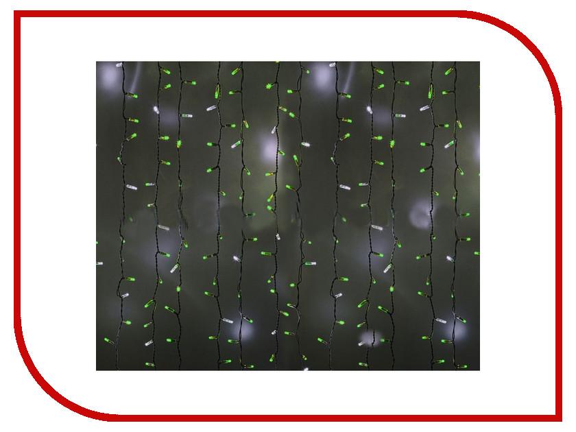 Гирлянда Neon-Night Светодиодный Дождь 2x1.5m 360 LED Green 235-226 neon green