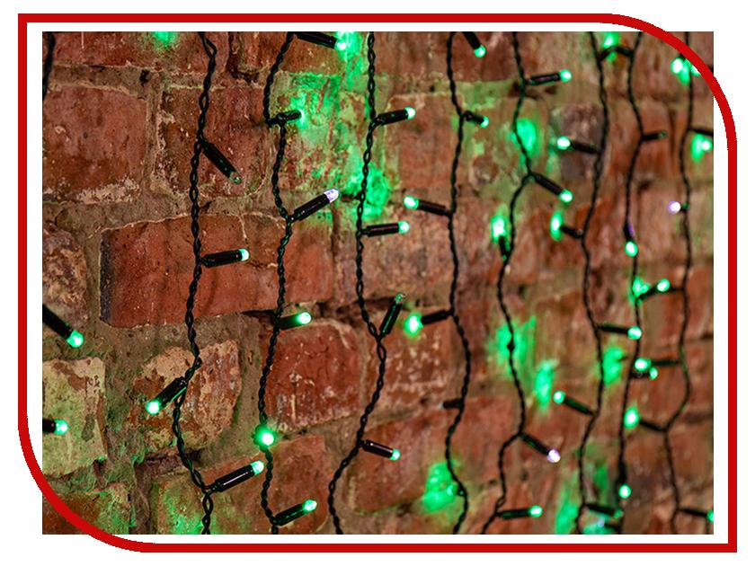 Гирлянда Neon-Night Светодиодный Дождь 2x1.5m 360 LED Green 235-236 neon green