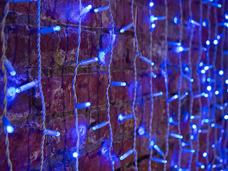 Гирлянда Neon-Night Светодиодный Дождь 2x1.5m 360 LED Blue 235-113