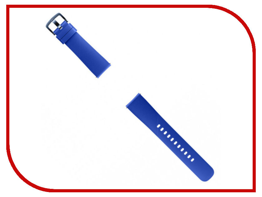 Аксессуар Ремешок Samsung Galaxy Gear Sport ET-YSN60MLEGRU Blue samsung et ya323bsegru лицевой уплотнитель для gear vr
