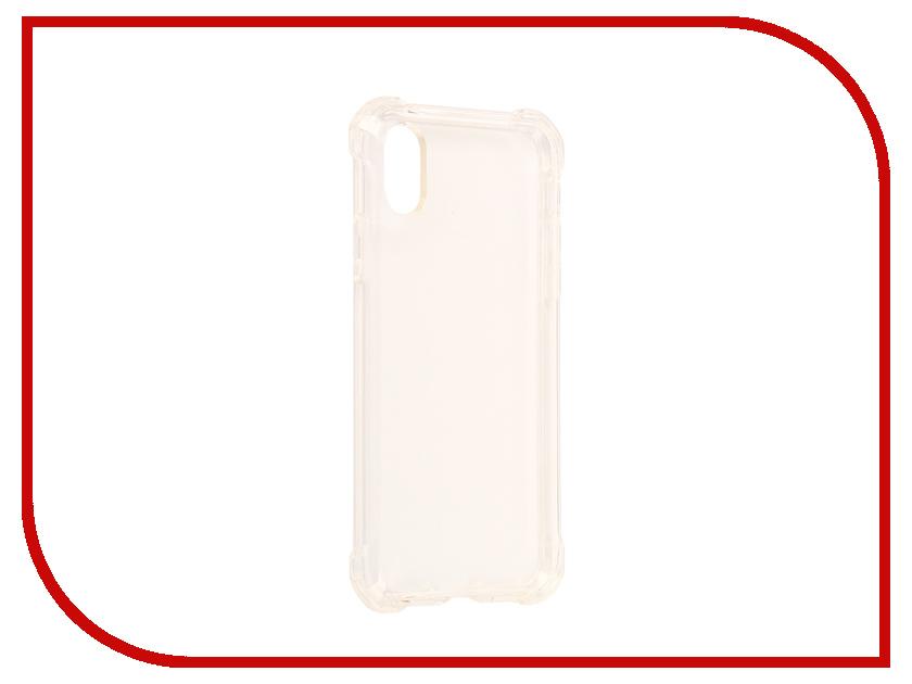 аксессуар чехол spigen airskin для apple iphone 7 plus transparent mat 043cs20499 Аксессуар Чехол Spigen Rugged Crystal для APPLE iPhone X Crystal-Transparent 057CS22117