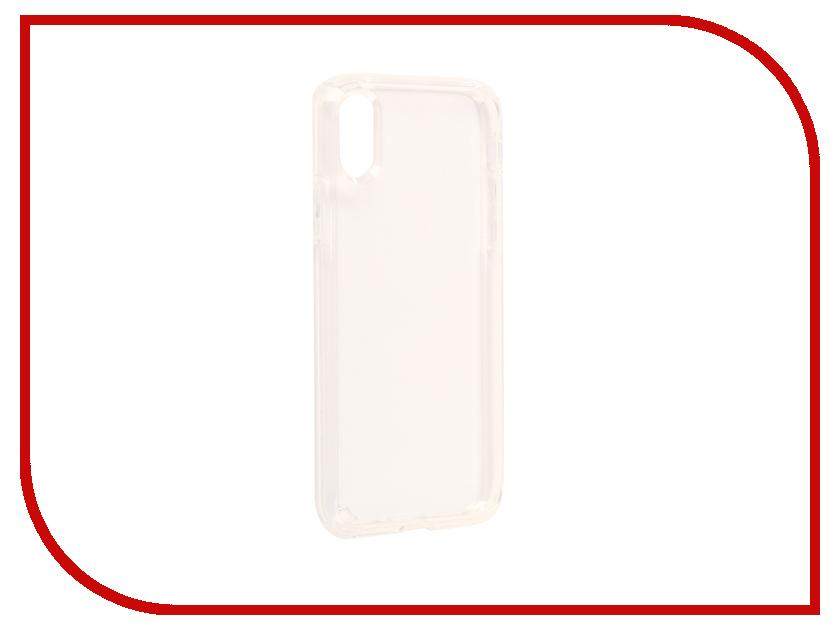 все цены на Аксессуар Чехол Spigen Ultra Hybrid для APPLE iPhone X Crystal-Transparent 057CS22127 онлайн