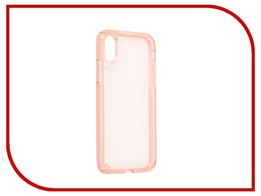 аксессуар чехол spigen airskin для apple iphone 7 plus transparent mat 043cs20499 Аксессуар Чехол Spigen Ultra Hybrid для APPLE iPhone X Crystal-Pink 057CS22128