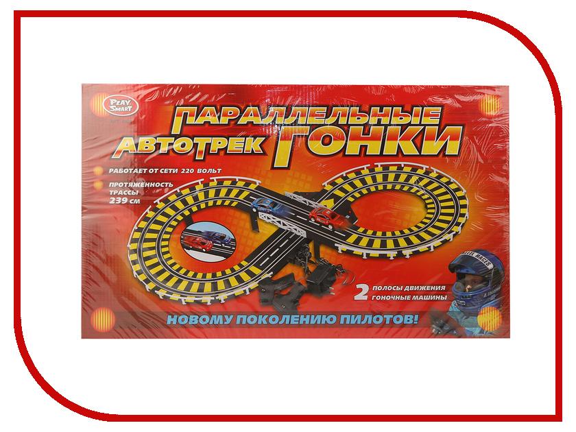 Автотрек Play Smart 239cm A144-H06057 автомат play smart снайпер р41399