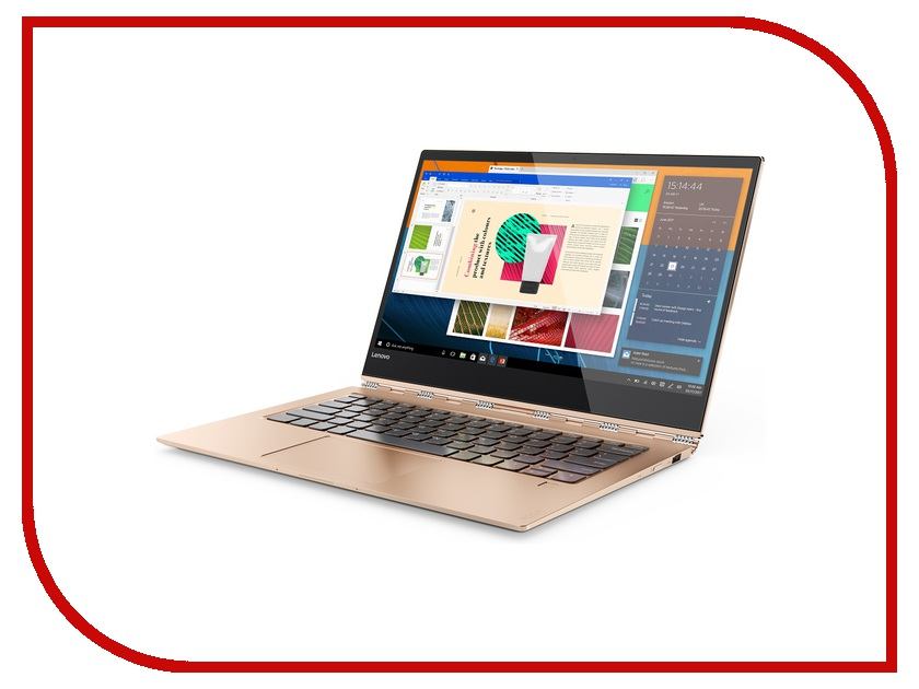 Ноутбук Lenovo IdeaPad Yoga 920-13IKB 80Y7001URK (Intel Core i5-8250U 1.6 GHz/8192Mb/256Gb SSD/No ODD/Intel HD Graphics/Wi-Fi/Bluetooth/Cam/13.9/1920x1080/Touchscreen/Windows 10 64-bit) ноутбук hp elitebook 820 g4 z2v85ea intel core i5 7200u 2 5 ghz 16384mb 256gb ssd no odd intel hd graphics wi fi bluetooth cam 12 5 1920x1080 windows 10 pro 64 bit
