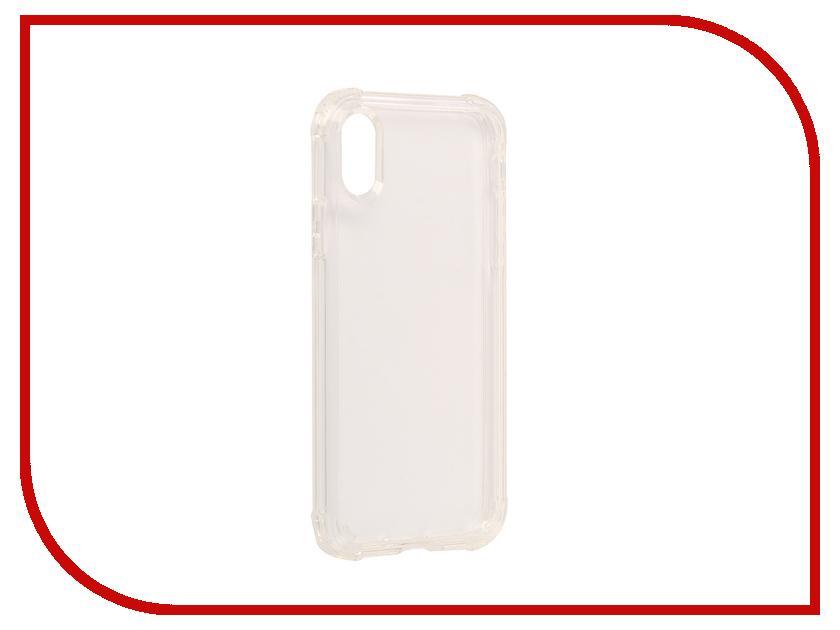 аксессуар чехол spigen airskin для apple iphone 7 plus transparent mat 043cs20499 Аксессуар Чехол Spigen Crystal Shell для APPLE iPhone X Crystal-Transparent 057CS22141