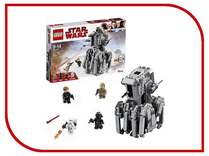 Конструктор Lego Star Wars Тяжелый разведывательный шагоход Первого ордена 75177 lego 31035