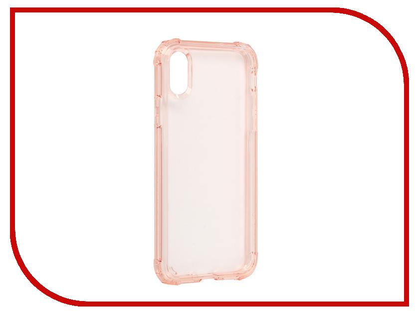 Аксессуар Чехол Spigen Crystal Shell для APPLE iPhone X Crystal-Pink 057CS22143