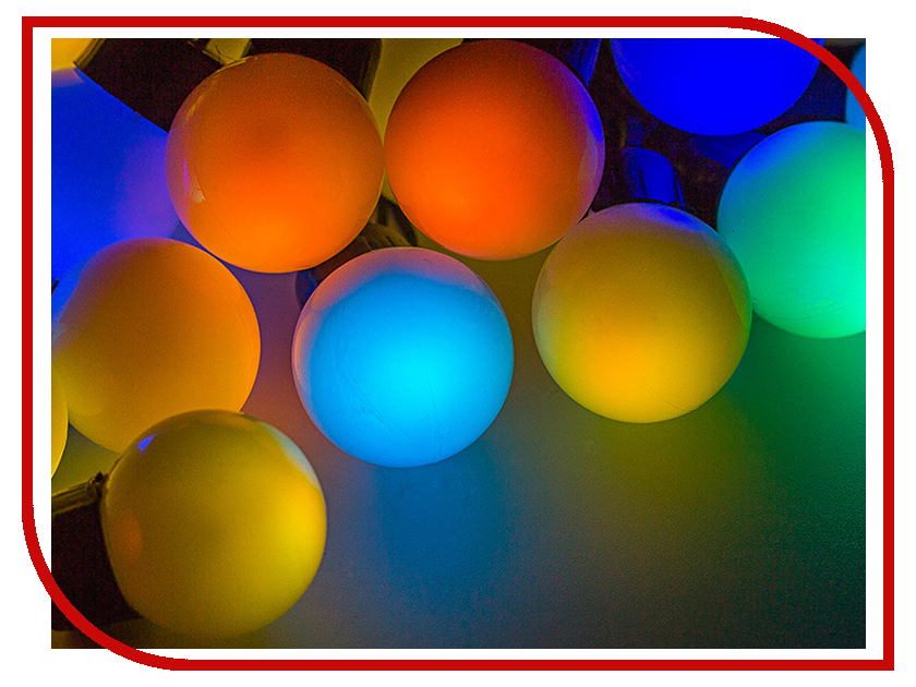 Гирлянда Neon-Night Мультишарики 38mm 10m 40 LED RGB 303-579