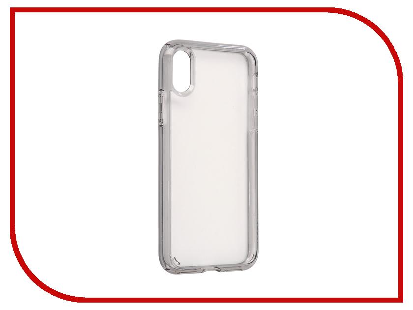 все цены на Аксессуар Чехол Spigen Ultra Hybrid для APPLE iPhone X Smoke-Crystal 057CS22131 онлайн