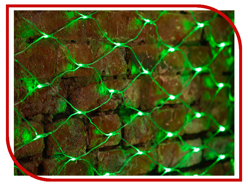 Гирлянда Neon-Night Сеть 2x1.5m 288 LED Green 215-044 intimes intimes it 044 lumi green