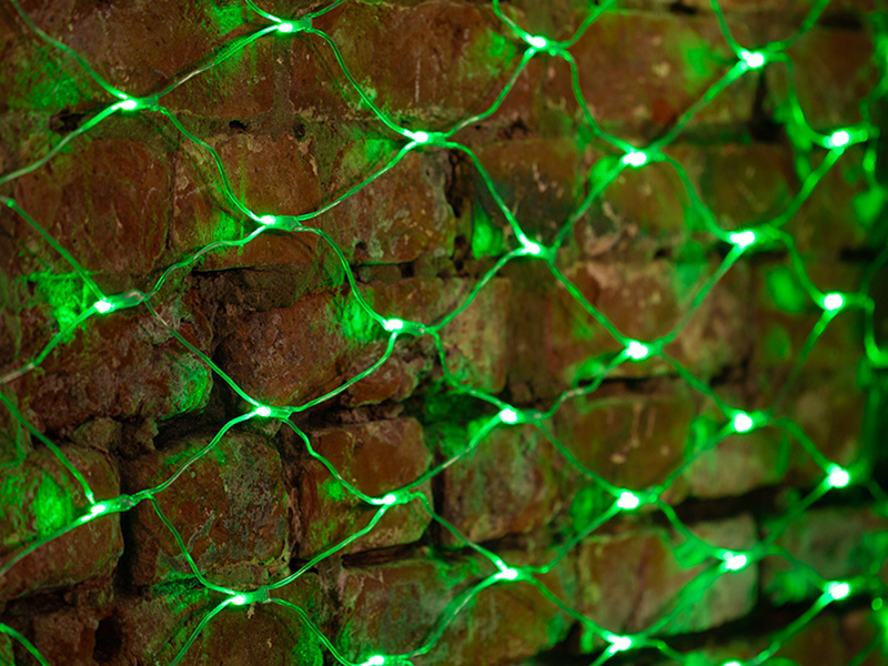 Гирлянда Neon-Night Сеть 2x1.5m 288 LED Green 215-044