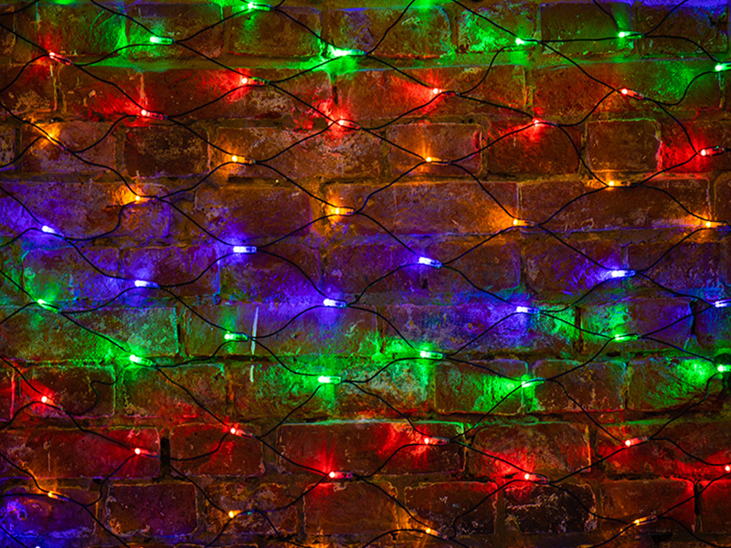 Гирлянда Neon-Night Сеть 2x1.5m 240 LED Multicolor 215-029