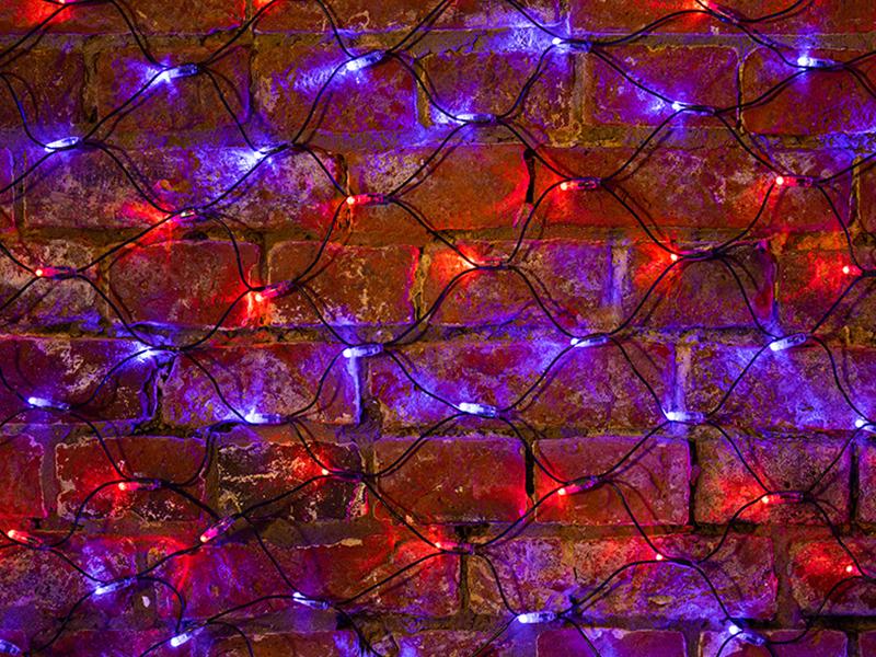 Гирлянда Neon-Night Сеть 2x0.7m 176 LED Red-Blue 215-013