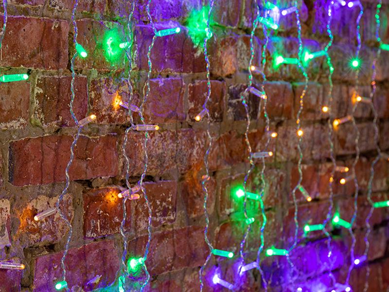 Гирлянда Neon-Night Светодиодный Дождь 2x3m 448 LED Multicolor 235-159-6