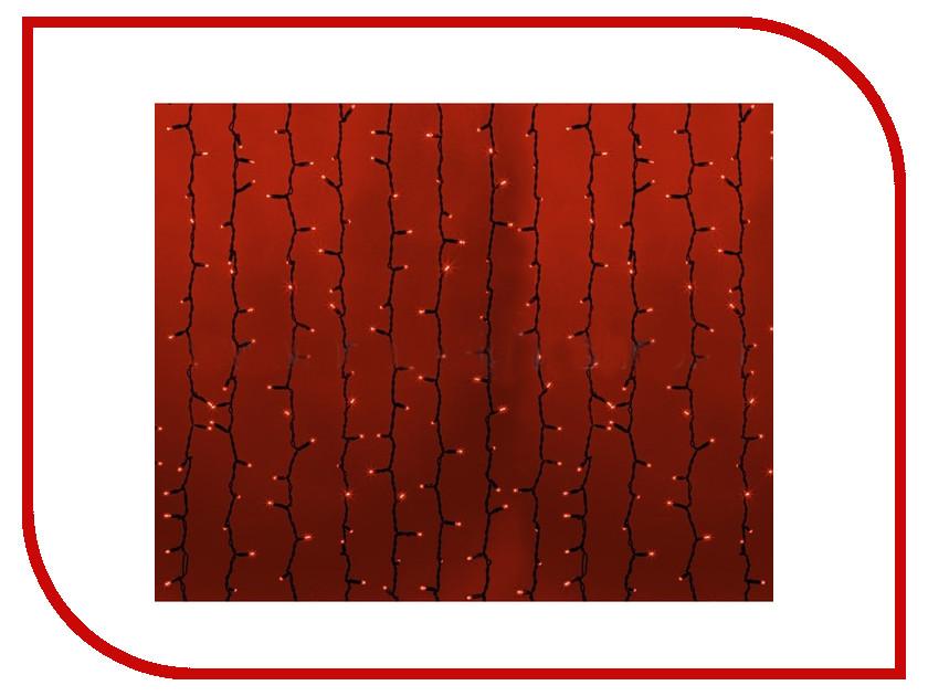 Гирлянда Neon-Night Светодиодный Дождь 2x1.5m 360 LED Red 235-122 цены онлайн