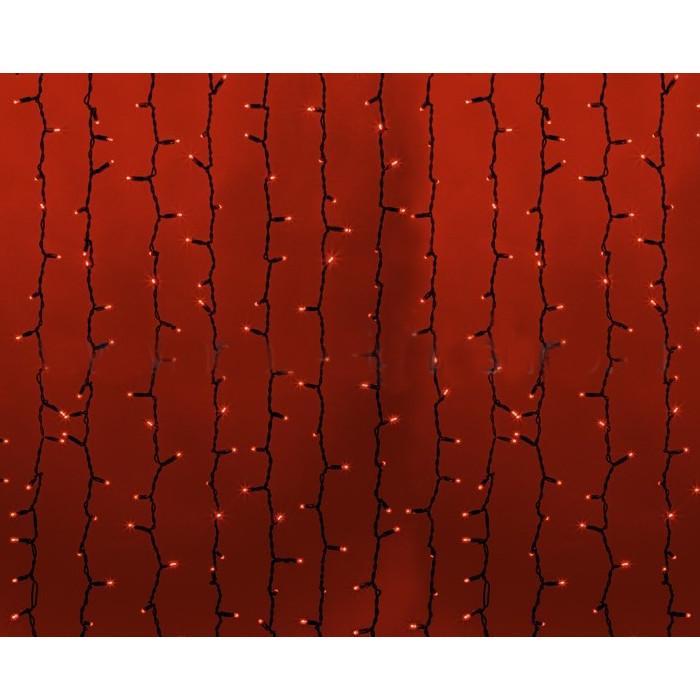 Гирлянда Neon-Night Светодиодный Дождь 2x1.5m 360 LED Red 235-122