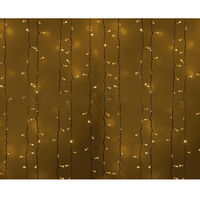 Гирлянда Neon-Night Светодиодный Дождь 2x1.5m 360 LED Yellow 235-111