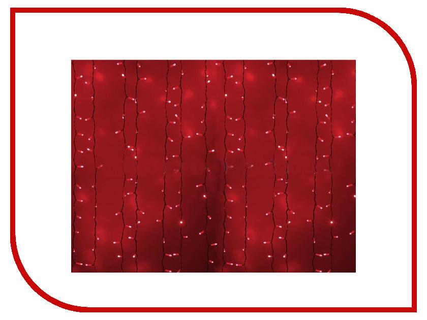 Гирлянда Neon-Night Светодиодный Дождь 2x1.5m 360 LED Red 235-112 lacywear s34915 3138 1330