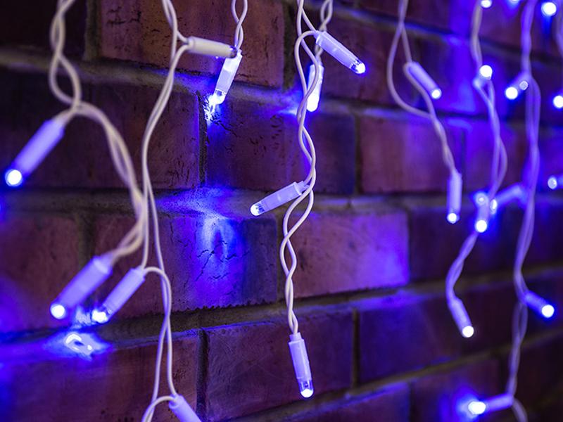 Гирлянда Neon-Night Айсикл 4.8x0.6m 176 LED Blue 255-163
