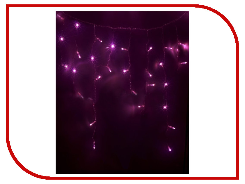 Гирлянда Neon-Night Айсикл 4.8x0.6m 176 LED Pink 255-148 neon pink v neck self tie top