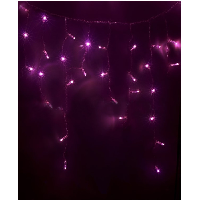 Гирлянда Neon-Night Айсикл 4.8x0.6m 176 LED Pink 255-148