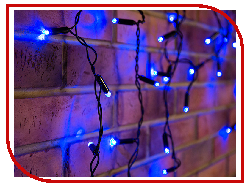 Гирлянда Neon-Night Айсикл 4.8x0.6m 176 LED Blue 255-133 мышь x game xm 810ogb neon blue