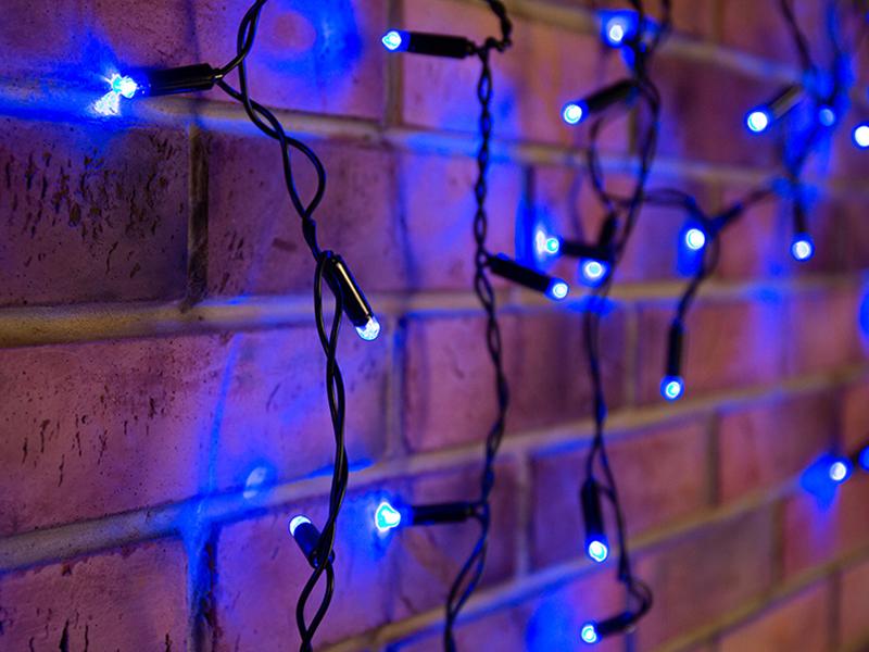 Гирлянда Neon-Night Айсикл 4.8x0.6m 176 LED Blue 255-133