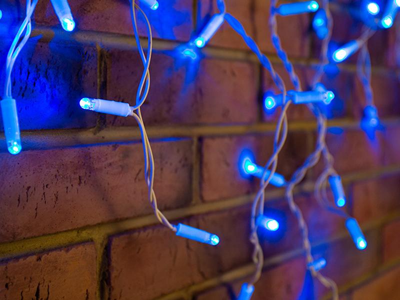 Гирлянда Neon-Night Айсикл 4.8x0.6m 176 LED Blue 255-136