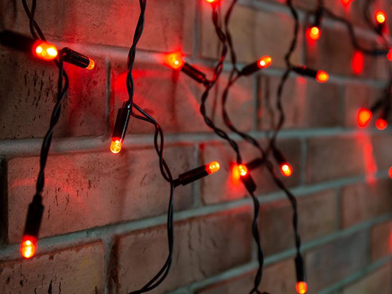 Гирлянда Neon-Night Айсикл 4.8x0.6m 176 LED Red 255-132