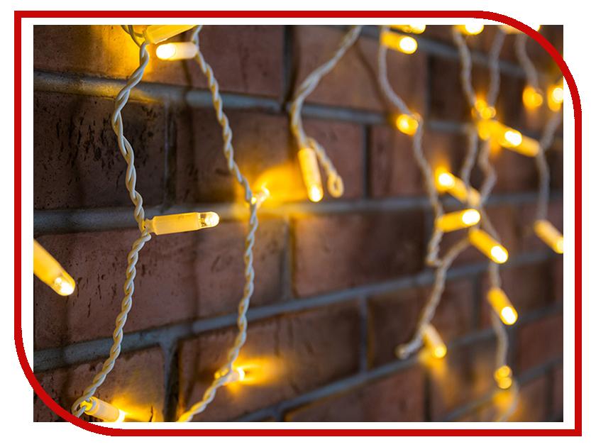 Гирлянда Neon-Night Айсикл 4.8x0.6m 152 LED Warm-White 255-138-6 arilux™ al b06 e12 e14 0 5w pure white warm white 6 led night light candle bulb