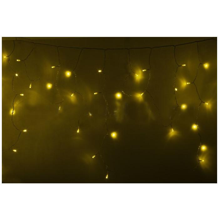 Гирлянда Neon-Night Айсикл 4.8x0.6m 176 LED Yellow 255-141