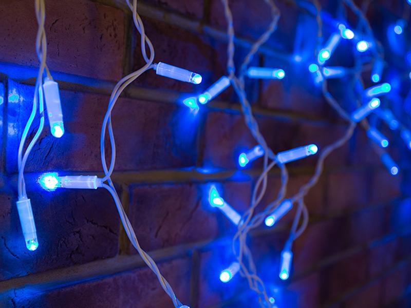 Гирлянда Neon-Night Айсикл 4.8x0.6m 152 LED Blue 255-136-6