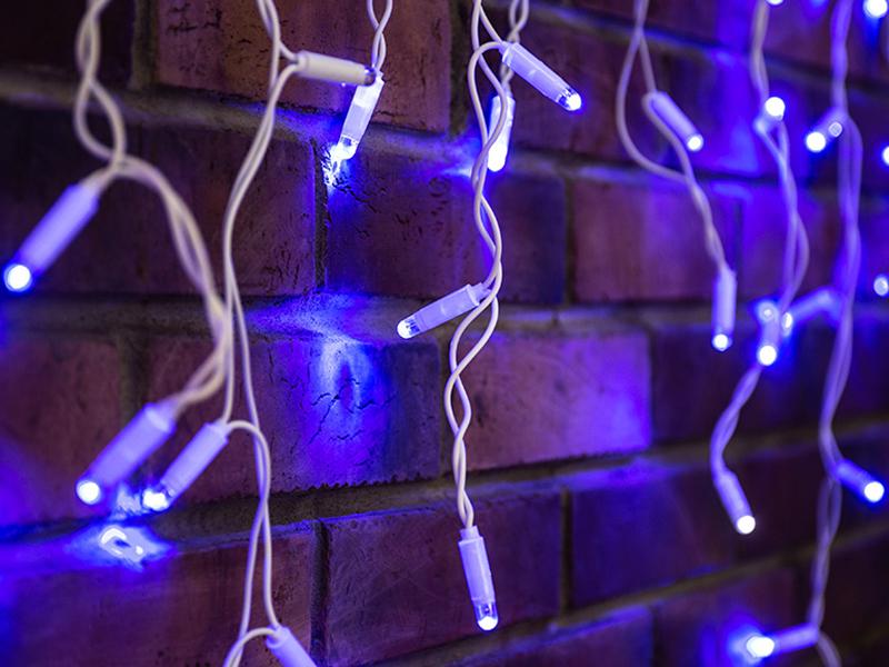 Гирлянда Neon-Night Айсикл 2.4x0.6m 88 LED Blue 255-035
