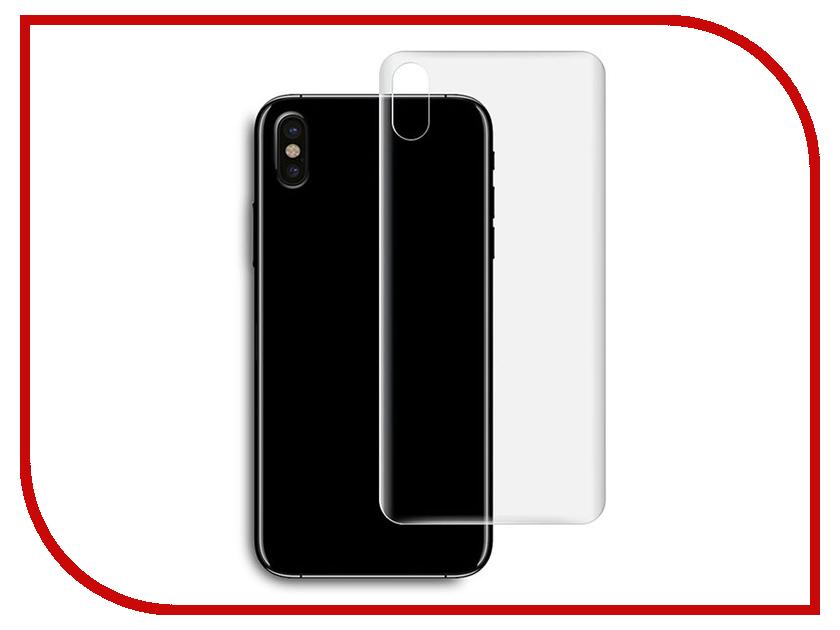 Аксессуар Защитная пленка Ainy для APPLE iPhone X задняя глянцевая AC-A769 аксессуар защитная пленка protect для apple iphone x front