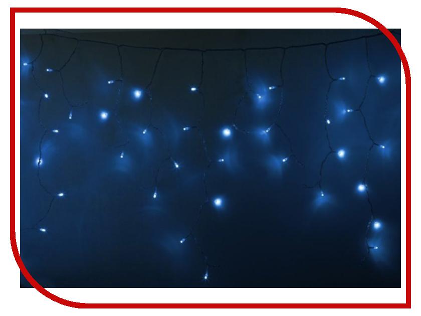Гирлянда Neon-Night Айсикл 2.4x0.6m 76 LED Blue 255-053 гирлянда neon night набор детская led blue 500 053