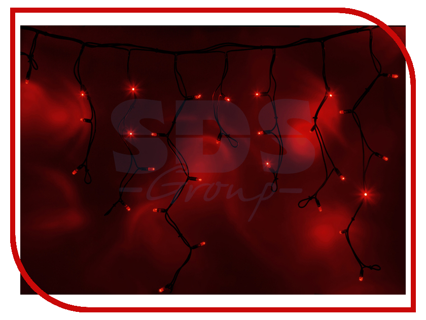 Гирлянда Neon-Night Айсикл 2.4x0.6m 88 LED Red 255-042 free shipping 3 pp eyeliner liquid empty pipe pointed thin liquid eyeliner colour makeup tools lfrosted purple