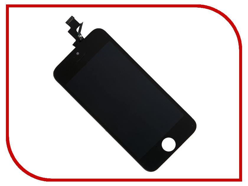 Дисплей Longteng для iPhone 5S Black 429745 дисплей monitor lcd for iphone 5s white
