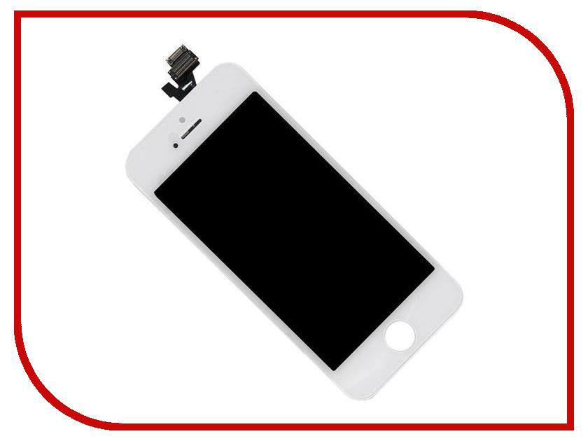 Дисплей Longteng для iPhone 5 White 429742 дисплей monitor lcd for iphone 6 white