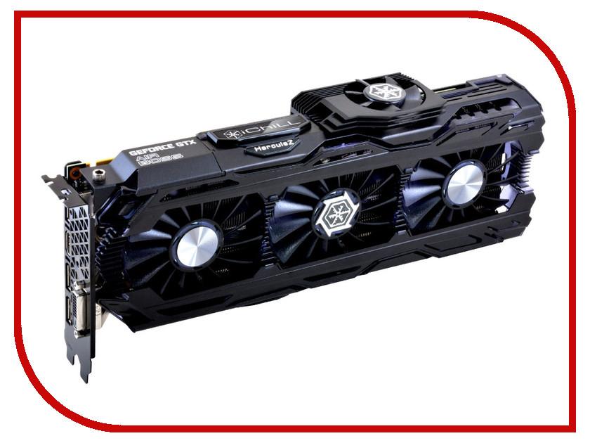 Видеокарта Inno3D GeForce GTX 1070 Ti iChill X4 1607Mhz PCI-E 3.0 8192Mb 8008Mhz 256 bit 3xDP DVI HDMI HDCP C107T4-1SDN-P5DN видеокарта 6144mb msi geforce gtx 1060 gaming x 6g pci e 192bit gddr5 dvi hdmi dp hdcp retail