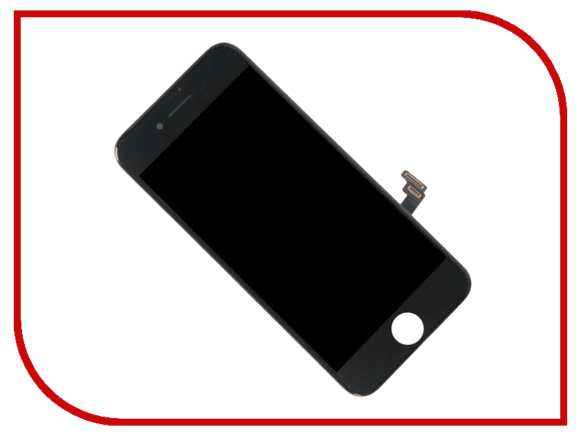 Дисплей Zip для iPhone 7 Black 516831 jskei наушники для iphone 7 plus
