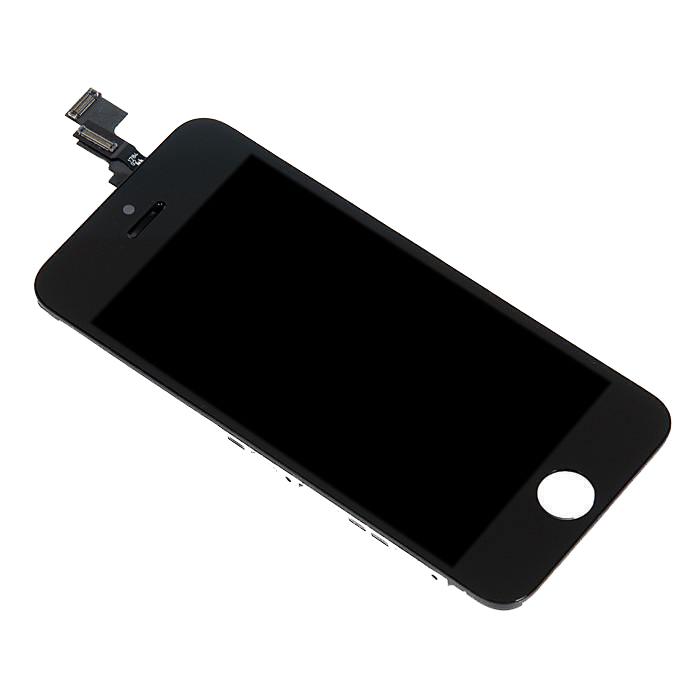 Дисплей RocknParts Zip для iPhone 5C Black 349616 дисплей monitor lcd for iphone 5c black